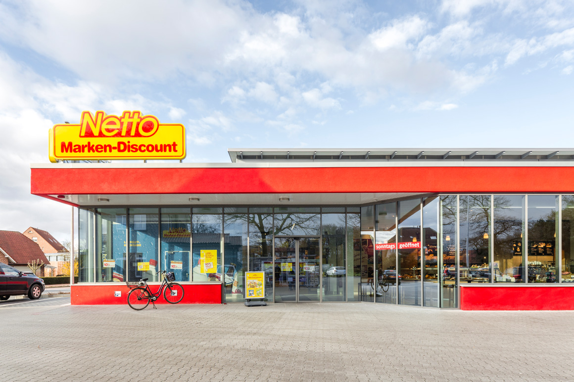 "Dierken Bau in Goldenstedt - Bauprojekt ""Netto in Wietmarschen"""